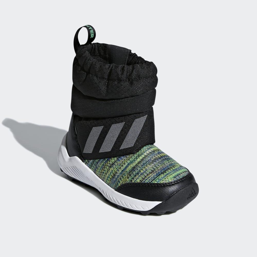 Adidas Rapidasnow Beat The Téli Boots Cipő Fiu Fekete   Titán   Világos Zöld   813c9f5757