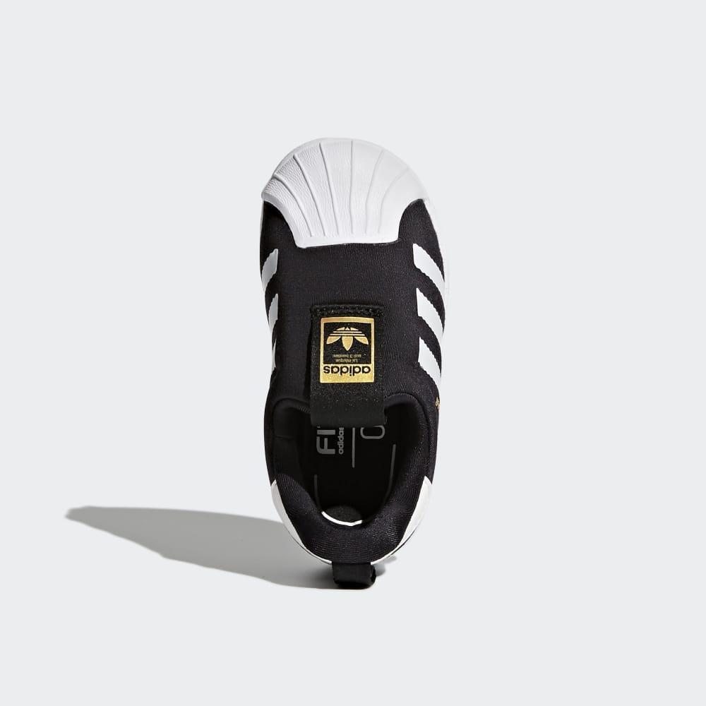 5ba0bfa5f3 Adidas Superstar 360 Cipő Lány Fekete / Fehér   ZRVCNK20
