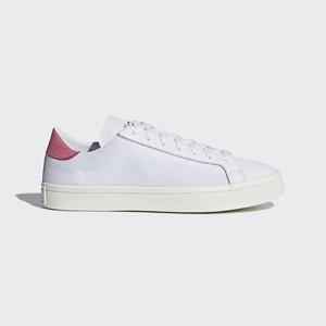 sports shoes 5d471 36144 Adidas Court Vantage Originals Cipő Férfi Fehér  Rózsaszín  WRUBEL04